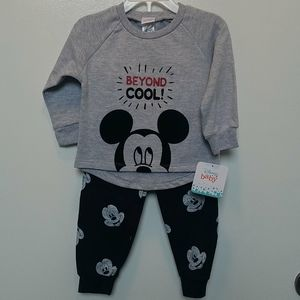 NWT Disney baby Mickey mouse outfit